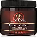 As I Am Coconut CoWash Cleansing Conditioner for natural coils and curls-16oz (Pack 4)