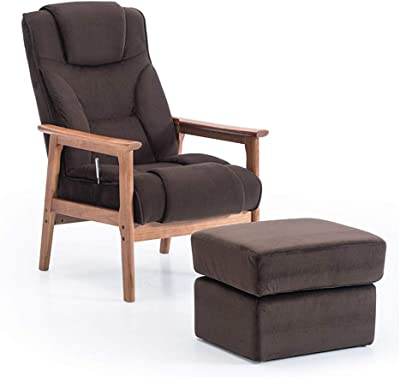 Amazon Com Krei Hejmo Wooden Armchairs Sofa Couch With