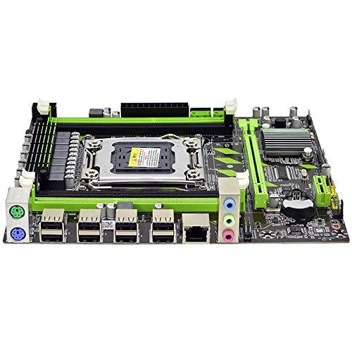 Binchil X79 Motherboard X79G LGA 2011 DDR3 Supports 4X16G M-ATX SATA III Motherboard for LGA 2011 Xeon Processor