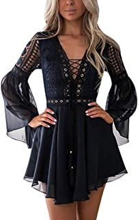 black crochet dress with sleeves