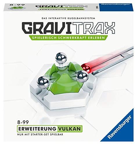 Preisvergleich Produktbild Ravensburger GraviTrax Erweiterung Vulkan - Ideales Zubehör für spektakuläre Kugelbahnen,  Konstruktionsspielzeug für Kinder ab 8 Jahren