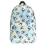 Kfnire Mochilas Tipo Casual Mochila Infantil Backpack Mochilas Escolares Fashion Mochilas de Marcha para Chicas, 3D impresión Unicornio (Panda)