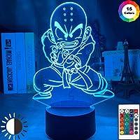 アニメソードアートオンラインロゴLEDナイトライト子供の寝室の装飾子常夜灯霧ヶ谷和人フィギュアテーブル3Dランプサンギフト