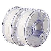 NOVA3D PLA+ フィラメント 3dプリンター専用 造形材料 フィラメントプラス リムーバブルのリール 2kg 白