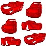 alles-meine.de GmbH 3D Effekt _ 6 TLG. Set _ Keks & Plätzchen Ausstechformen - Disney Cars - Auto - Lightning McQueen - BPA frei - Ausstecher - Kinderküche - Kekse - Plätzchenset..