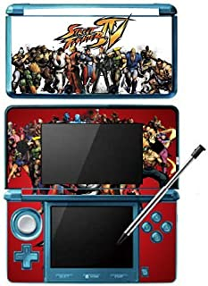 Super Street Fighter IV 4 3D Edition Game Skin for Nintendo 3DS Console by Skinhub [並行輸入品]
