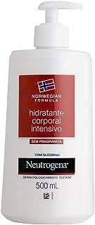 Hidratante Intensivo Corporal Norwegian Sem Fragância, Neutrogena, 500ml
