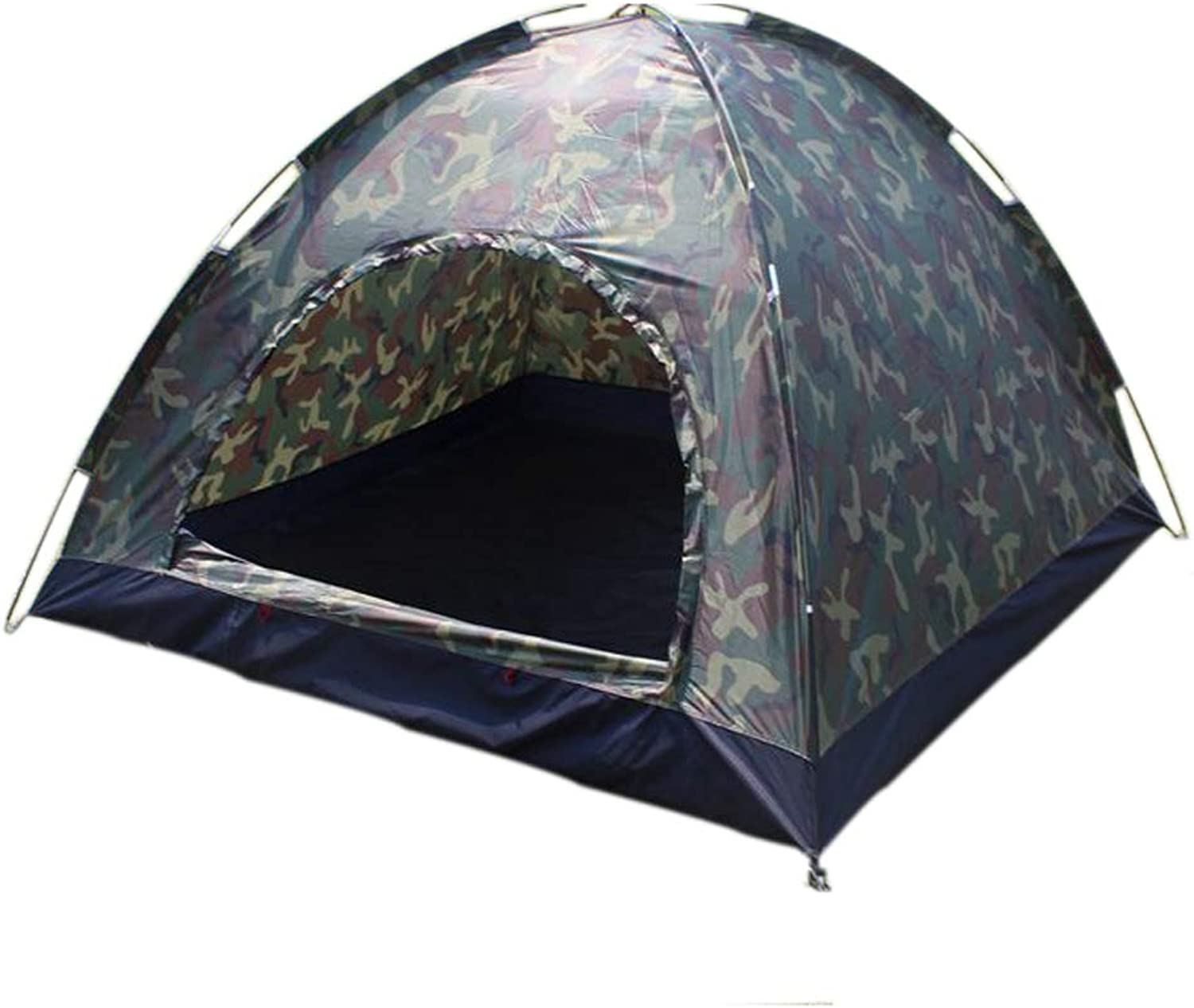 Camouflage Outdoor Tent, Travel Rainproof Mosquito Net, Oxford Waterproof Camping Tent 34 People, Tent and Camping Beach