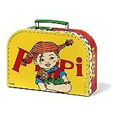 Micki & Friends 44378900 Pippi Langstrumpf Kinder-Koffer - Tasche - 25 cm - Größe (B/L/H): 25,5x8x19 cm - gelb mit Henkel und Verschluss - ab 3 Jahre -