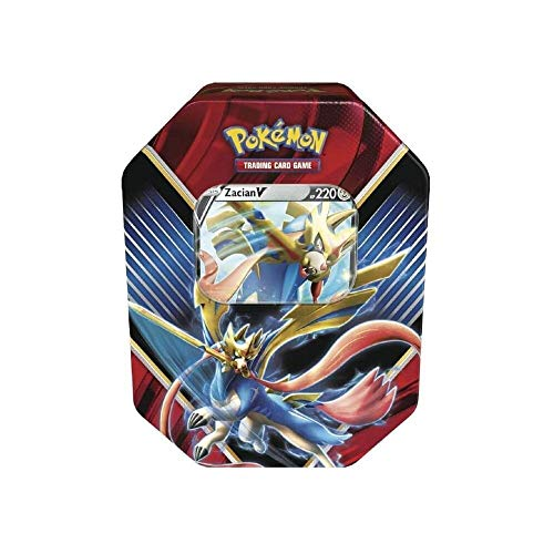 Pokemon TCG: Legends of Galar Summer Tin Featuring Zacian