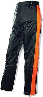 Olympia Moto Sports 243-215003 MP215 Horizon Rain Pants (Black/Neon Orange, Medium/Large)