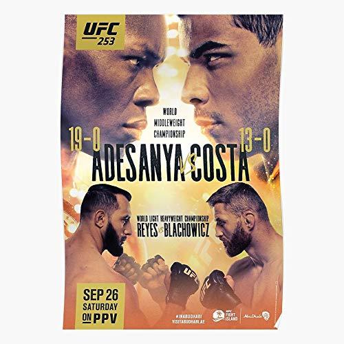 Carwyn Carwyn The 253 Israel Last Stylebender Nigeria Avatar Austrailia UFC Adesanya Anime Home Decor Wall Art Print Poster !
