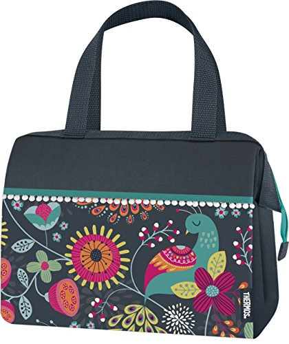 Thermos Raya 9 Can Duffle, Colorful Peacock