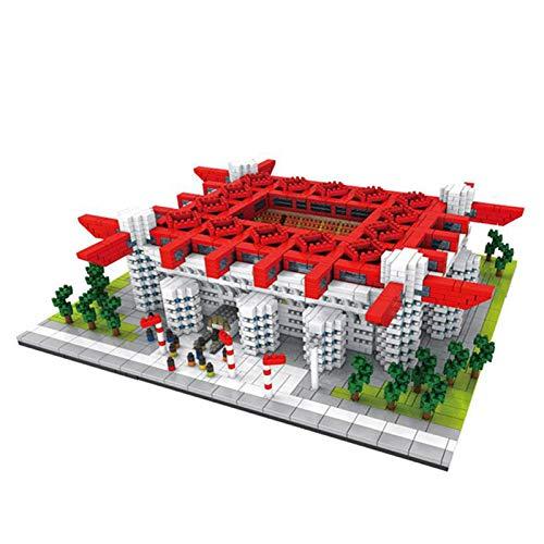 kyman Bloques de construcción de Juguetes de ensamblaje Creativo de Micro-partículas San Siro Stadium World Architectural Serie (Size : 3800PCS)