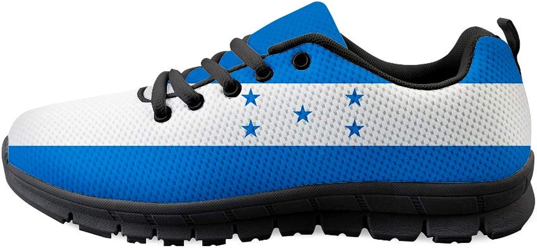 Owaheson Laceup Sneaker Training shoes Mens Womens Honduras Flag