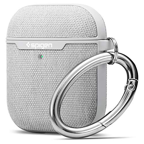 Spigen Urban Fit Diseñado para Apple Airpods Funda para Airpods 1 y 2 [Luz LED Visible] - Gris