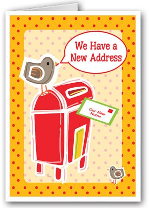 Mailbox New Address Note Card - 10 Boxed Cards & Envelopes