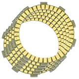 Caltric Clutch Friction Plate Compatible With Honda Xr185 Xr-185 Xr 185 1979 Motorcycle 5 Plates