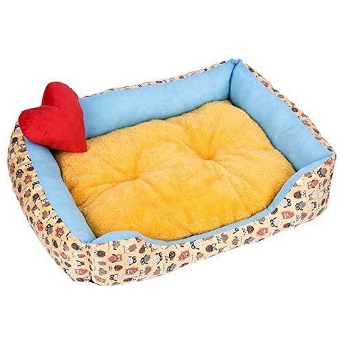 ASDFG matras voor honden, warm, voor huisdieren, Nido, voor kleine honden, middelgrote honden, zacht babybed, teddybull terrier pugproducten voor huisdieren