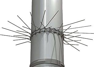 Easy Life Marterbescherming voor valpijpen tot Ø 100 mm (V2A) - individueel aanpasbaar door steeksysteem van de riemschakels.