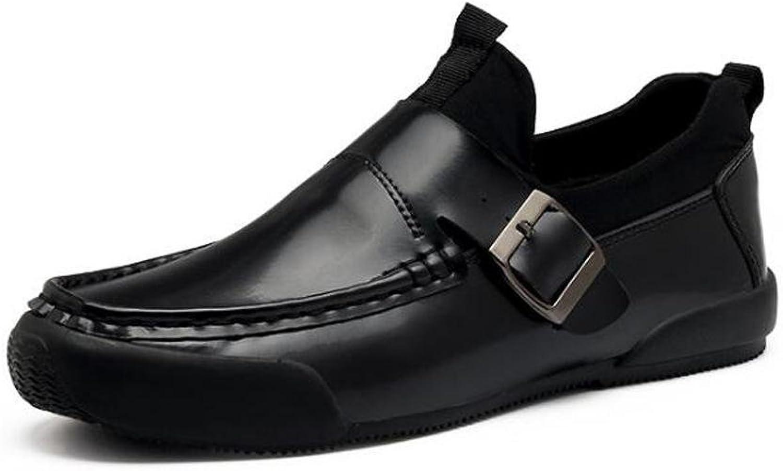 Breathable Business Loafers Fashion Slip-ons Herren Casual Leichte Low Low Low Top Gürtelschnalle Dekoration Anti-Rutsch Ware Freizeitschuhe EU Größe 39-44 B072J5CK8L  Wirtschaftlich und praktisch 7f2596
