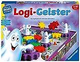Ravensburger 25042 - Logi-Geister - Spielen und Lernen für Kinder, Lernspiel für Kinder von 5-10 Jahren, Spielend Neues Lernen für 2-4 Spieler