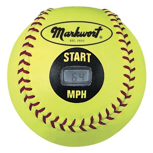 Markwort Speed Sensor Yellow Cover Softball (12-Inch)