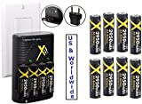 Best Xit Rechargeable Batteries - Travel Charger with Hi Performance 8 AA Battery Review