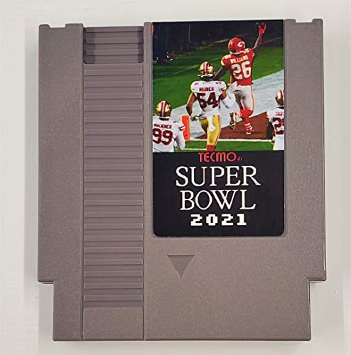 Tecmo Super Bowl 2021 Version Cartridge Video Game for NES