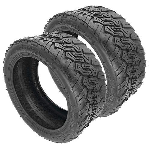 TaoToa 2Pcs 85/65-6.5 Balance EléCtrico Scooter Off-Road Tubeless Tire DIY para Pro...