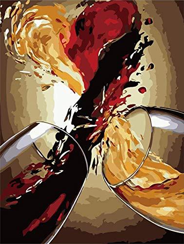 Safiman Puzzel 1500 Stukjes,Wijnglas, Voor Kinderen En Volwassenen, Houten Gepersonaliseerde Puzzel Leuk Spel, 87X57Cm