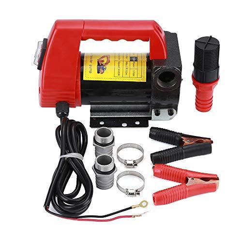 Elektrische Transferpumpe,Diesel Fluid Extractor,Dieselpumpe , Transferpumpe, 175W, 12V, 40 L/min, für Auto/Motorrad/Fahrzeug, Tragbare Kraftstoffpumpe, Leistungsstark, Haushalt, Kommerziell