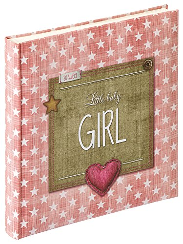 Walther UK-100-R Babyalbum Little Baby Boy, 28 x 30,5 cm, rosa