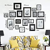 Innovative Stencils Set of 12 Spanish Family Quote...