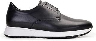 6778-DEC EXLDEC-Antik Siyah 201 Nevzat Onay Bağcıklı Siyah Günlük Deri Erkek Ayakkabı