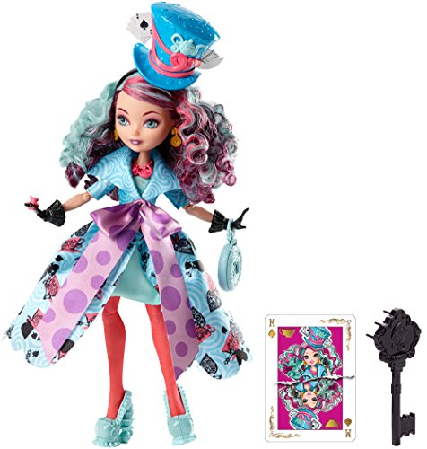 Ever After High - CJF40 - Poupée Mannequin - Madeline Hatter - Wonderland