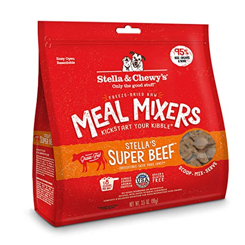Stella & Chewy's Freeze-Dried Raw Stella's Super Beef Meal Mixers