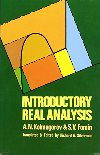 Introductory Real Analysis (Dover Books on Mathematics)の詳細を見る