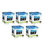 BlueDEF Diesel Exhaust Fluid Synthetic Urea Deionized Water 2.5 Gallon (5 Pack)