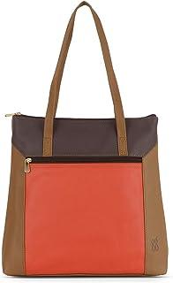 Baggit Spring-Summer 2019 Faux Leather Women's Tote Handbag (Grey) (Lxe Jonas)