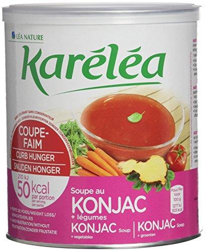 Karéléa soupe coupe-faim au Konjac et légumes Pot de 300g