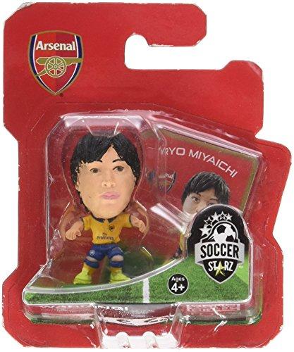 Soccerstarz Arsenal FC Ryo Miyaichi Limited Edition Away Kit
