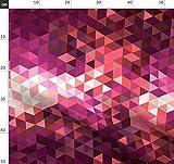 Geometrisch, Dreiecke, Farbverlauf, Gefälle, Rosa,