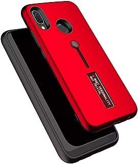 جراب حماية شخصي مصفح لموبايل هواوي نوفا 3i - اللون احمر