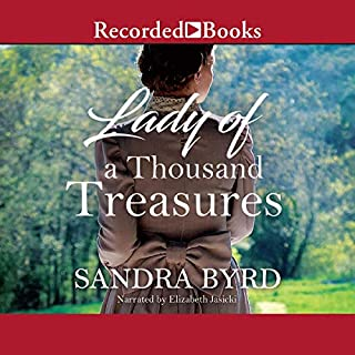 Lady of a Thousand Treasures audiobook cover art