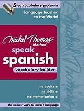 Michel Thomas Speak Spanish Vocabulary Builder: 5-CD Vocabulary Program (Michel Thomas Series)