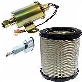Masnln 149-2457 Fuel Filter & 149-2311 Fuel Pump for Onan Cummins Generator 4000 4KW Microlite MicroQuiet with 1403280 Air Filter