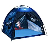 ALPRANG Play Tent for Boys and Girls- Space Shuttle Atlantis with Hubble Dome Tent for Kids Gift- ToddlerPop Up Tent Playhouse for Indoor Imaginative and Physical Play- 47