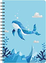 Siixu Spiral Journal Notebooks, Personal Diary for Writing, College Ruled Paper, Note Book for Work, School, Office, Women...