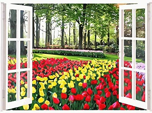 schilderij tulpen ikea